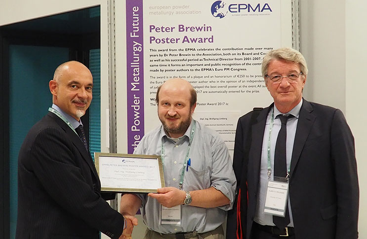 Euro PM2017 poster award winner